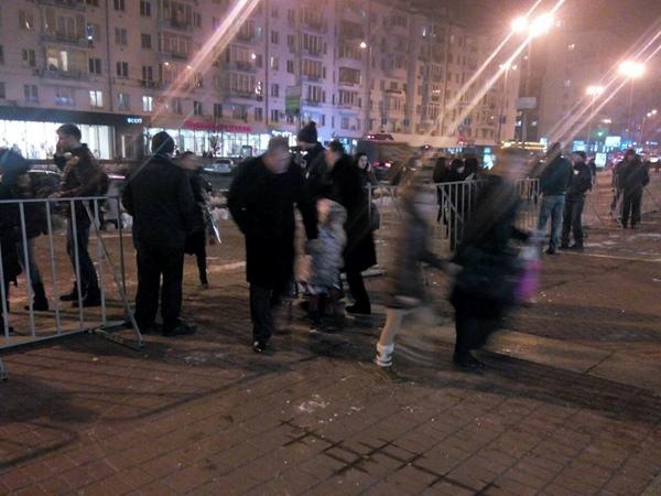 В Киеве задержали активистов, пытавшихся сорвать концерт Потапа и Насти