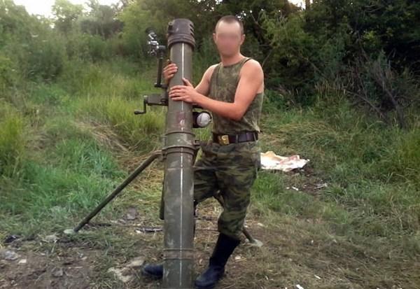 Задержали боевика ДНР, который убивал мирных граждан за7 тыс грн