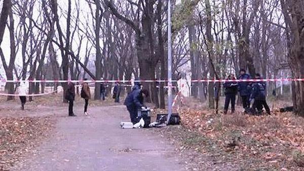 Водесском парке обнаружили обгоревший труп женщины винвалидной коляске