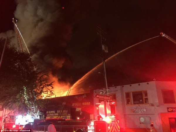 Вамериканском ночном клубе сгорели 40 человек