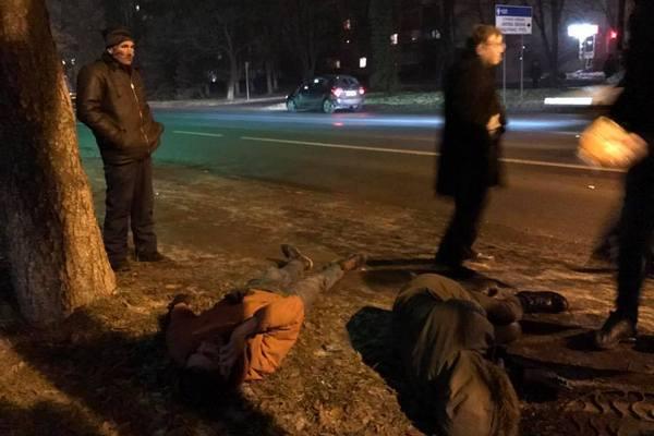 ВУжгороде нетрезвый работник СБУ сбил 2-х пешеходов