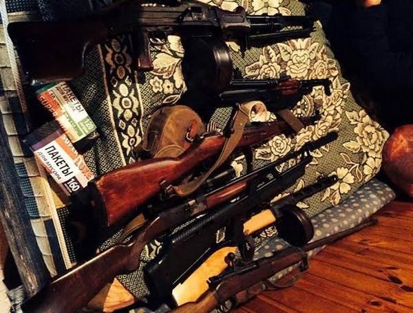 Гражданин Одесской области сохранял дома большой арсенал оружия