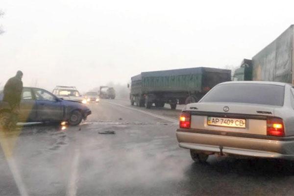 ВЗапорожской области вДТП погибли 5 человек, изних трое детей