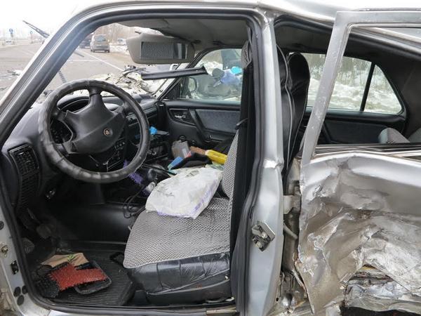 Натрассе Киев-Одесса случилось ДТП при участии военного, есть погибшие