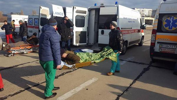 ИзПолтавщины вАвдеевку отправили 15 тонн гуманитарной помощи