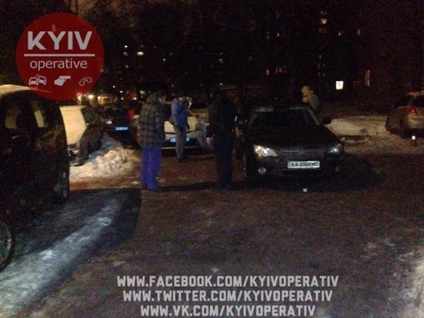 ВКиеве таксист выстрелил пассажиру влицо
