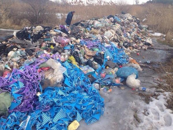 ВПолтавской обл. сор нелегально вывезли кочистным сооружениям водоканала
