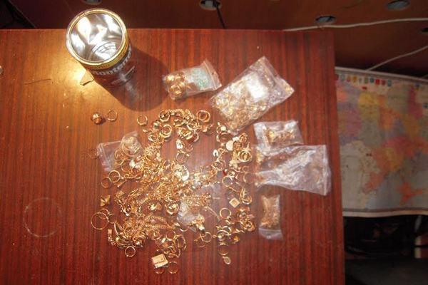 Таможенники обнаружили неменее 1кг золота награнице вОдесской области