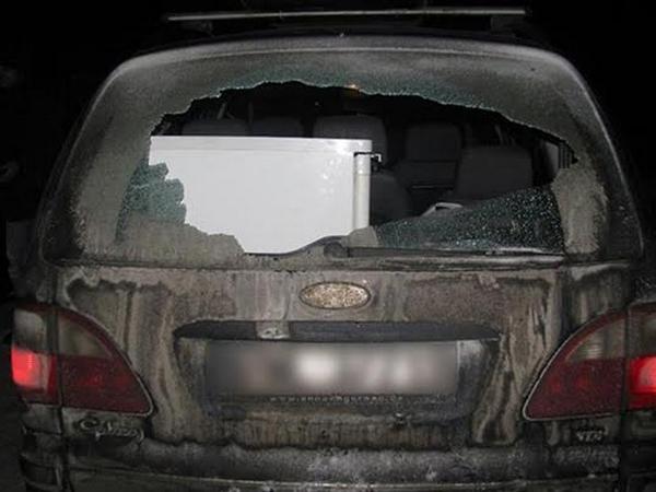 Граждане Хмельницкой области устроили преследование автомобиля сострельбой