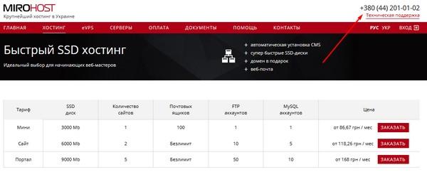 Характеристики качественного хостинг создание сайтов каталог ua