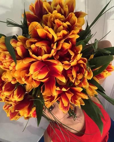 Джамала похвасталась тюльпанами, названными веечесть