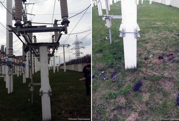 ВХарькове 2-х молодых людей ударило током при попытке сделать селфи наэлектростолбах