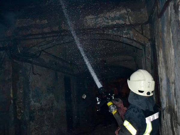 Сверепый пожар вОдессе: сгорело семь квартир