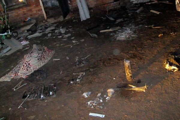 ВХарьковской обл. погиб 4-летний мальчик из-за возгорания снаряда
