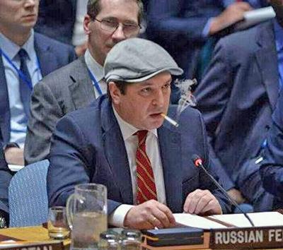 Твиттер заблокировал лже-аккаунт зампостпредаРФ при ООН Владимира Сафронкова