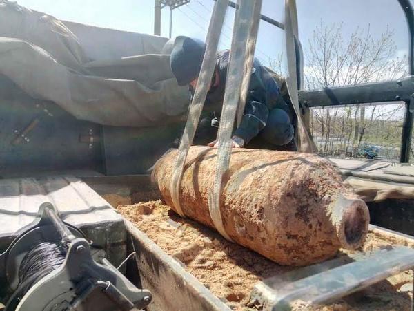 НаОдесчине найдена 250-килограммовая бомба времен войны
