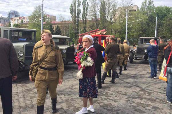 Стерненко написал объявление вполицию онападении нанего наАллее Славы