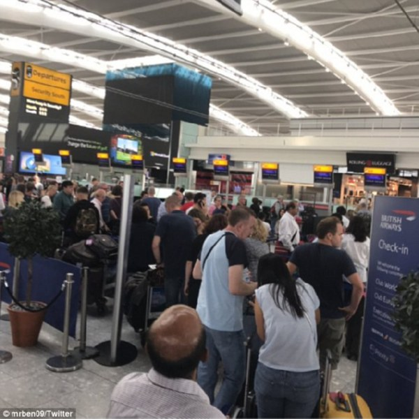 British Airways отменила все вылеты из 2-х крупнейших аэропортов Лондона