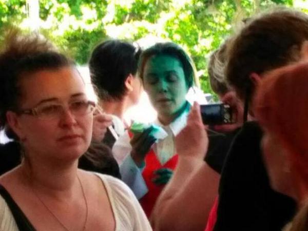 Депутат Рады частично потеряла зрение из-за зеленки