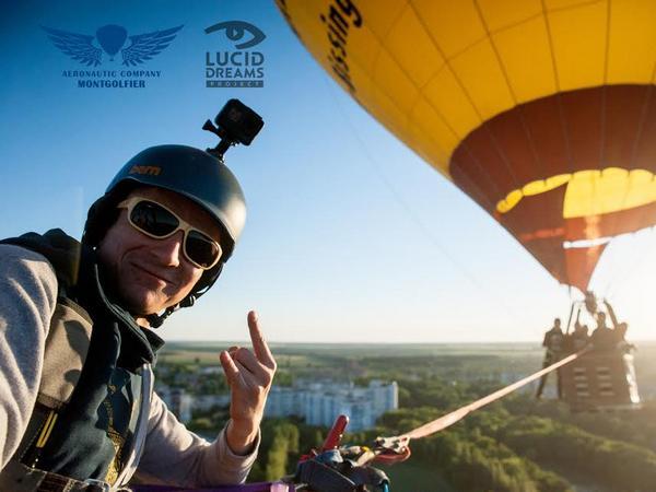 Украинские пилоты иэкстремалы установили рекорд государства Украины