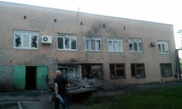 Боевики обстреляли комендатуру «Сартаны», трое пограничников получили легкую контузию