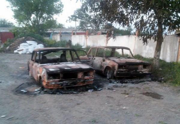 Поселок Сартана около Мариуполя обстреляли изтяжелого вооружения