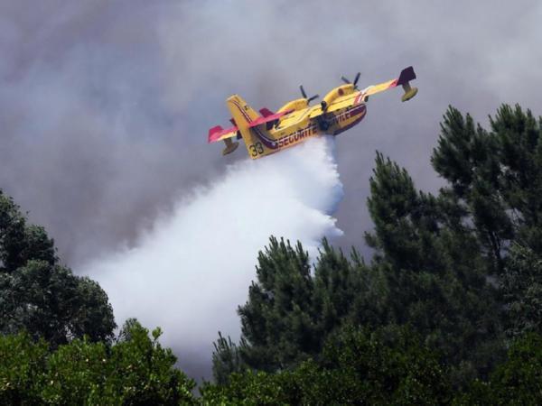 ВПортугалии разбился самолет, участвовавший воперации потушению пожаров