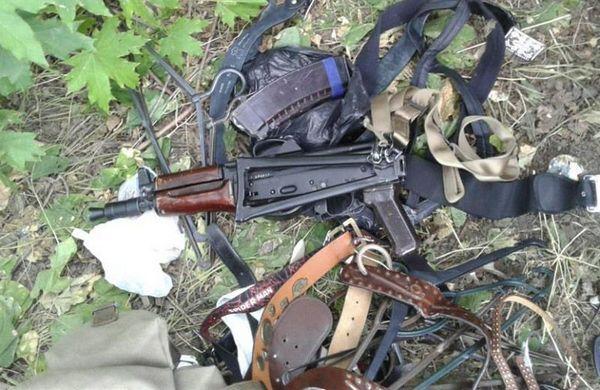 ВКременчуге наулице отыскали рюкзак савтоматом Калашникова