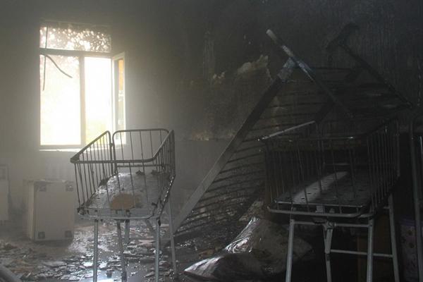 ВДонецке горел роддом. Пожар тушил «министр МЧС ДНР»