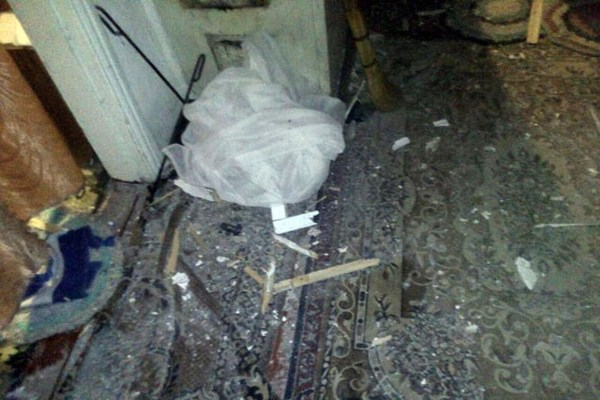 Отобстрелов вМарьинке повреждены три здания— милиция