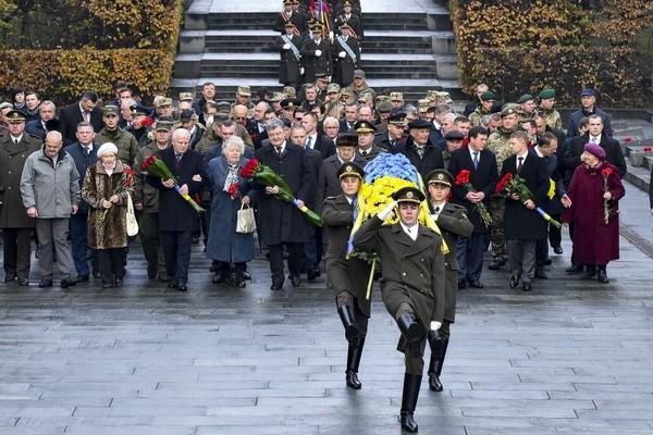 Украина отмечает 73 года содня изгнания нацистов
