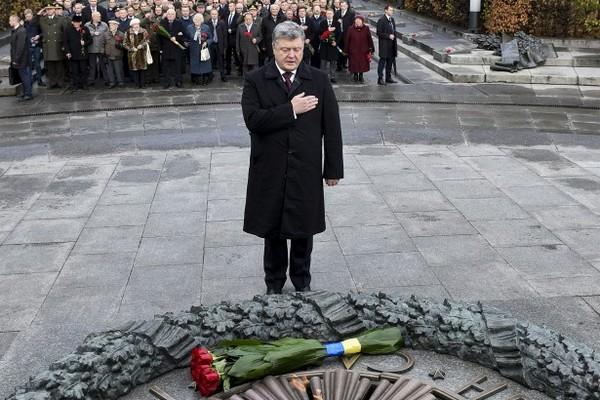 ВБахмуте подчеркнули 73-ю годовщину Дня освобождения Украины отфашистских захватчиков