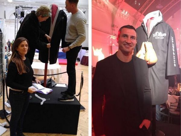 Халат Кличко был продан за215 тыс. долларов
