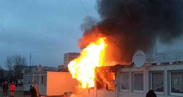ВКаменском напожаре вмодульном городке умер 2-летний сын