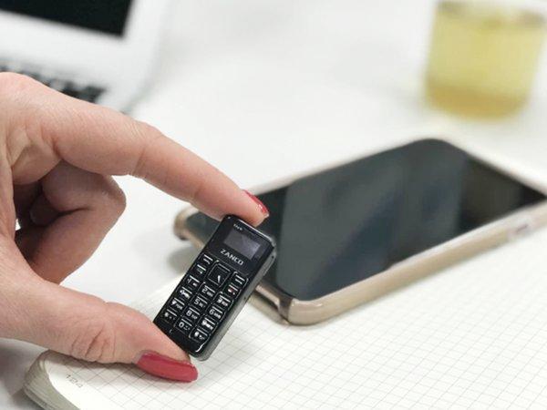 Представлен самый небольшой вмире на100% функциональный мобильный телефон