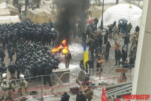 Вцентре украинской столицы усилены меры безопасности из-за рассмотрения законодательного проекта оДонбассе
