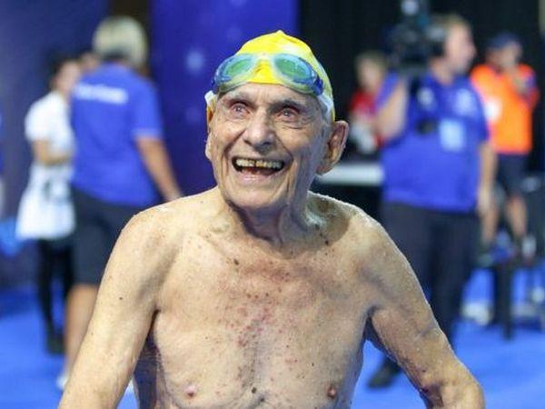 Австралийский пловец побил мировой рекорд ввозрасте 99 лет