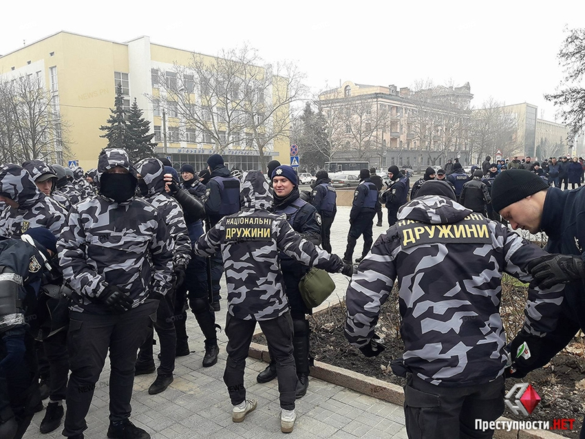 ВНиколаеве митингующие потребовали отставки губернатора
