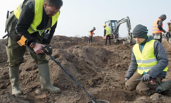 Серебряный клад времён викингов откопали вГермании