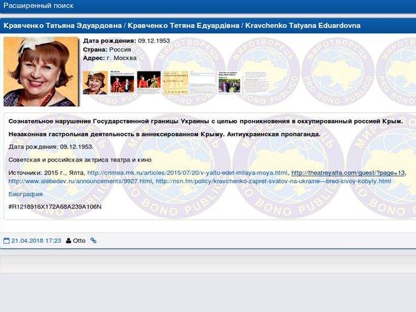 Все на«Миротворце»! Никто из«Сватов» больше не грозит Украине
