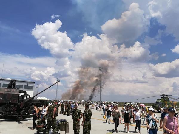 В Румынии на авиашоу разбился самолет