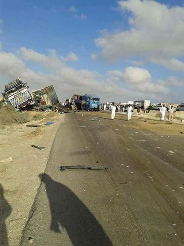 Близ популярного египетского курорта разбился пассажирский автобус