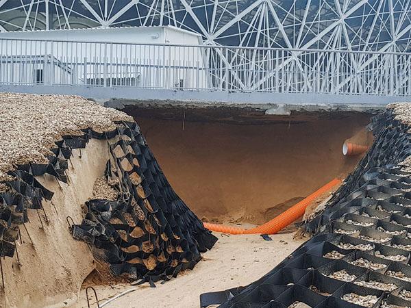 В российском Волгограде разрушен стадион ЧМ-2018