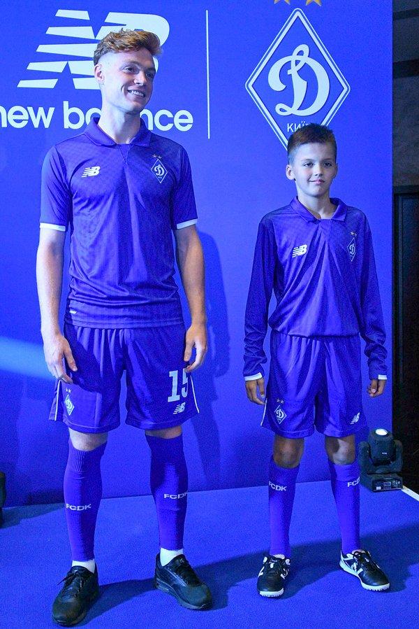 Киевское «Динамо» официально представило новую игровую форму (фото ... cc93f5915c4ac