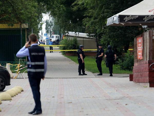 В Беларуси милиция освободила беременную заложницу в банке