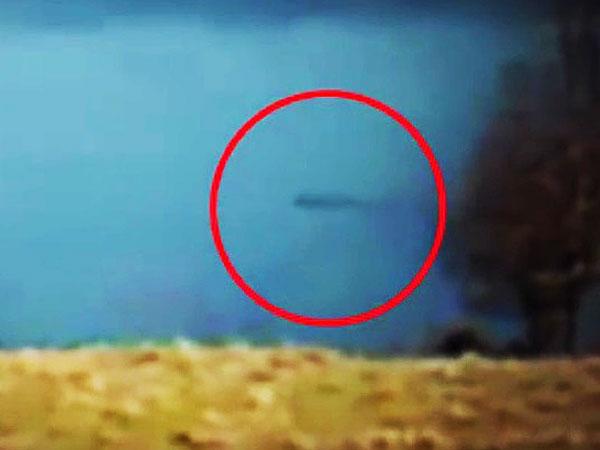 Лох-несское чудовище попало в объектив камеры видеонаблюдения