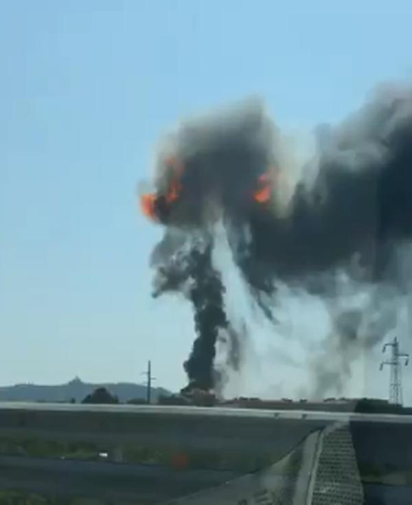 В аэропорту Болоньи произошел мощный взрыв