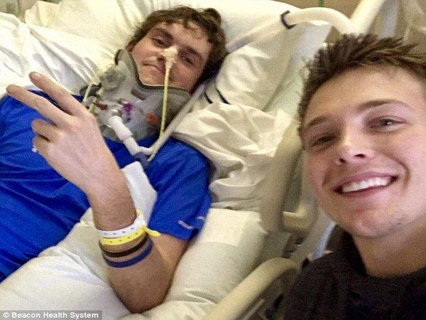Американец выжил в автокатастрофе, несмотря на то, что ему оторвало голову