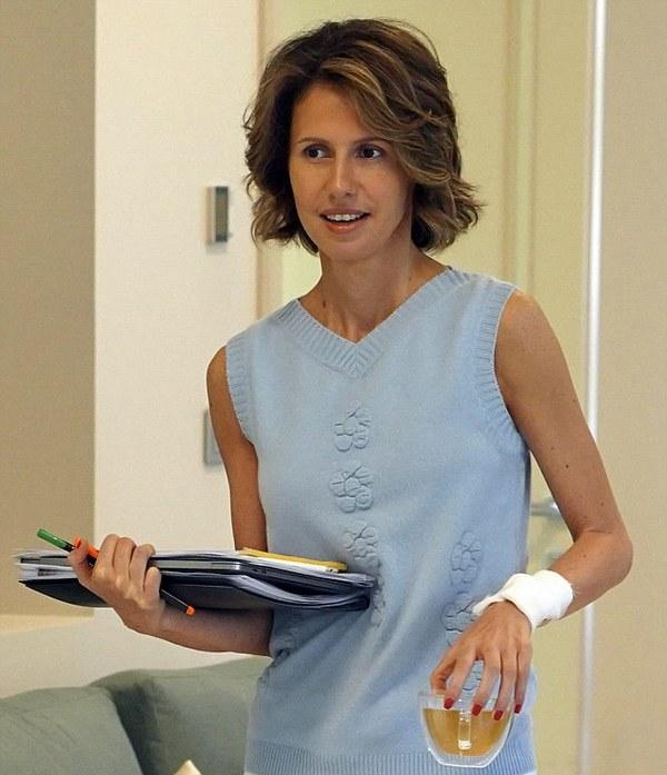 У жены Асада обнаружили рак груди