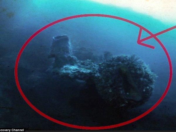 «Корабль пришельцев» обнаружен в Бермудском треугольнике